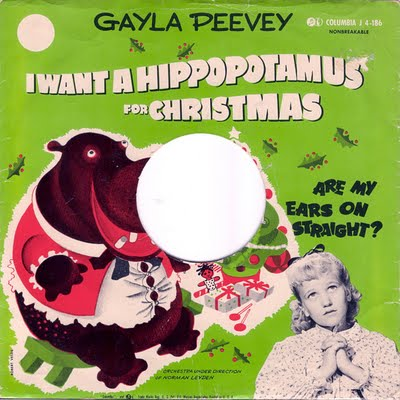 Hippo For Christmas.I Want A Hippopotamus For Christmas An Illustrated Song