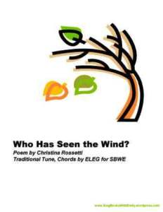 Who Has Seen the Wind ELEG SBWE bk cover only