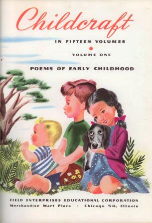 Childcraft Poems of Early Childhood Volume, 1960 Illustrated
