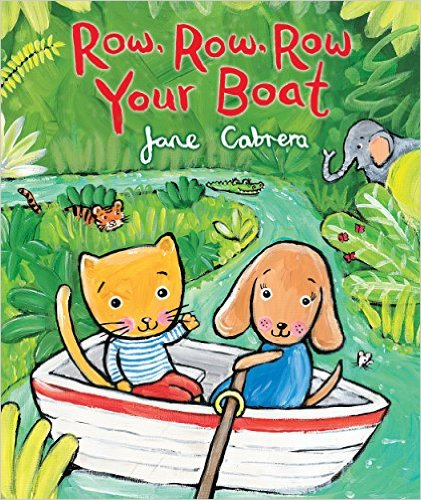 ROW ROW ROW YOUR BOAT, an Illustrated Song | Sing Books with Emily ...