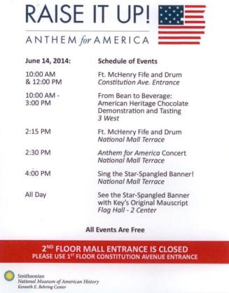 2014 06 14 raise it up anthem for america program flyer