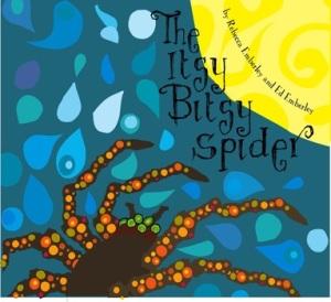 itsy bitsy spider emberley