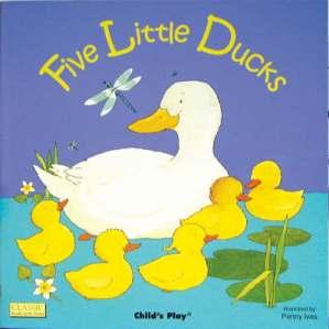 five little ducks w holes