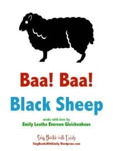 baa baa blacksheep eleg sbwe cover