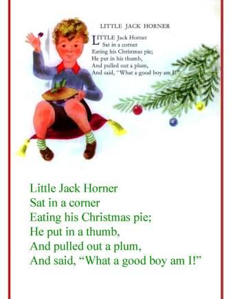 little jack horner childcraft for SBWE