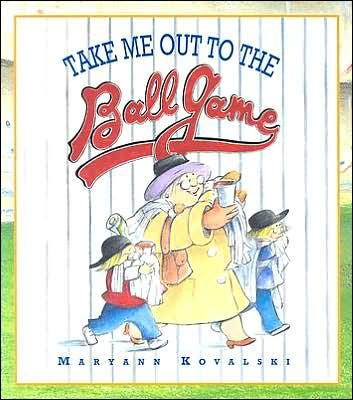 Take me out to the ballgame a singable picture book with a sing along