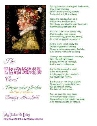 The flower carol sing books with emily the blog flower carol arcimboldo one pager mightylinksfo