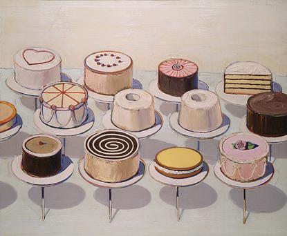 Education For Cake Artist : Wayne Thiebaud, Delicious Artist: America the Beautiful ...