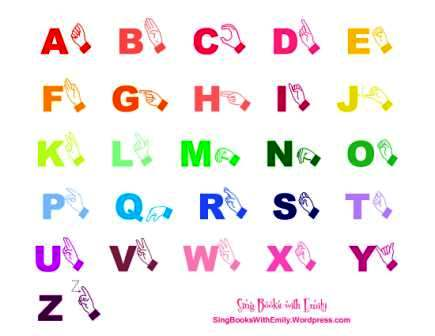 abcs the alphabet song illustrated sing books with emily the blog