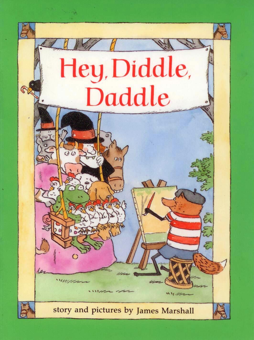 Hey Press To Peel Away Patch Promises Professional Eye: Hey Diddle Diddle, An Illustrated Singable Nursery Rhyme