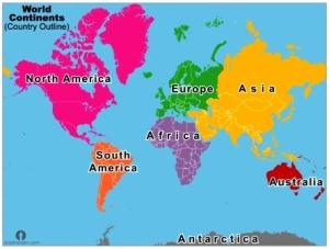 continents thumb