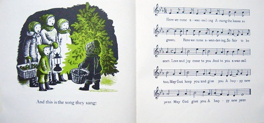 This ... - The Little Fir Tree, A Picture Book Lovingly Kissed By Song Sing
