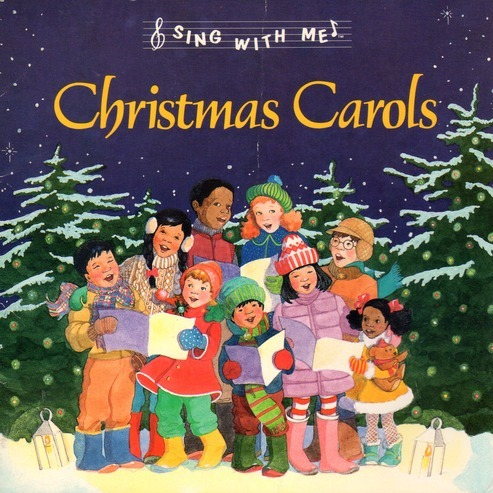 Christmas Carols on Sing With Me Christmas Carols Words And Music By Various Artists