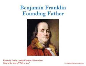 Benjamin Franklin Founding Father front cover only
