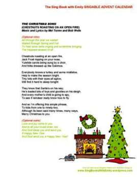 SBWE Advent Calendar: Christmas Song (aka Chestnuts Roasting