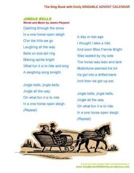 SBWE Advent Calendar Jingle Bells