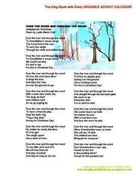 SBWE Advent Calendar Over the River (Christmas)