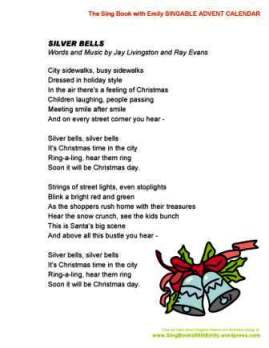 SBWE Advent Calendar silver bells