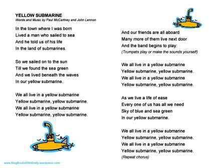 Guitar : yellow submarine guitar chords Yellow Submarine Guitar ...