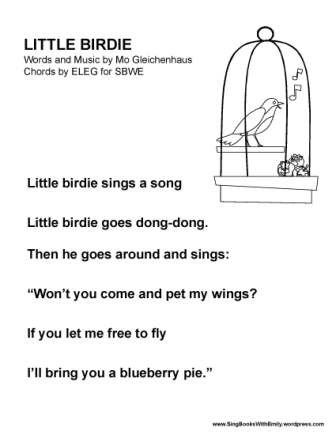 Little Birdie by MPG for SBWE (no chords)