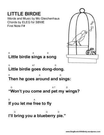 Little Birdie by MPG for SBWE (w chords)