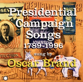 presidential campaign songs cover oscar brand