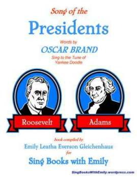 Song of the Presidents (words by Oscar Brand) cover only 2