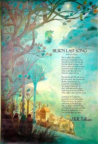 bilbo's last song poster baynes 1