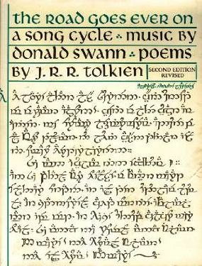 road goes ever on tolkien swann