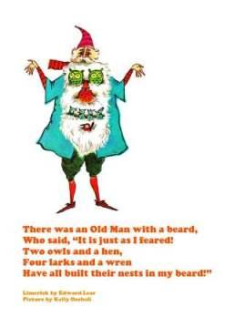 there was an old man w a beard lear oechsli