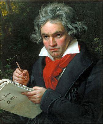 Beethoven by Joseph Karl Stieler 1820