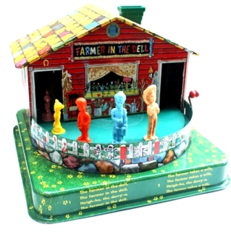 farmer in the dell toy by mattel