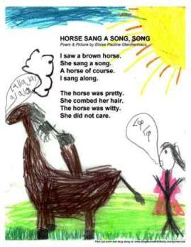 HORSE SANG A SONG SONG EPG POSTER 2013
