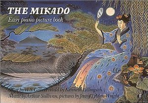 mikado easy piano picture book G&S lillington
