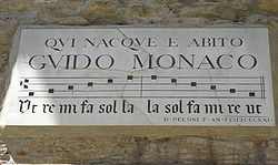 250px-Plaque_of_Guido_Monaco,_Arezzo