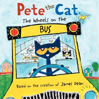 pete the cat wheels on the bus