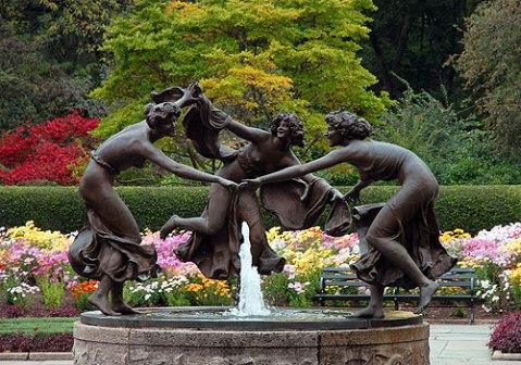 untermyer fountain three dancing ladies