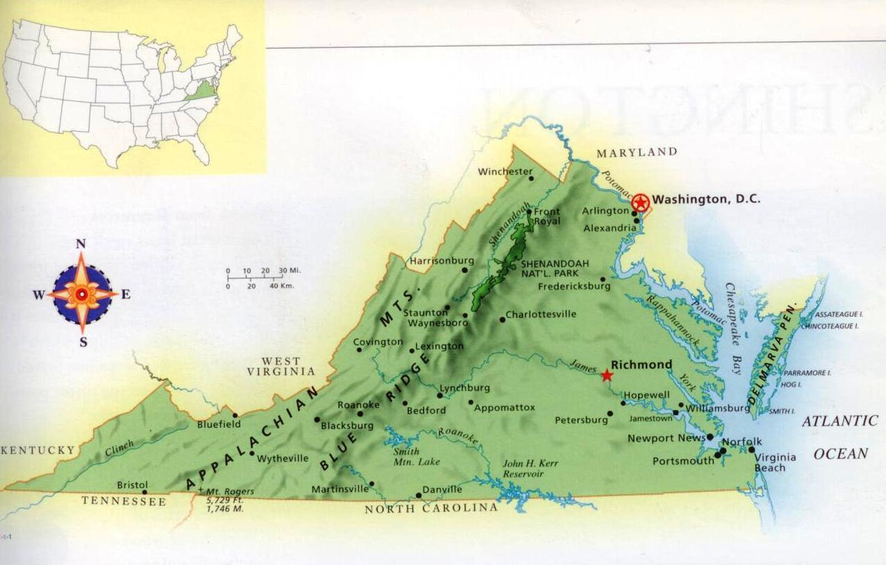 Appalachian Mountain Range Map  Viewing Gallery