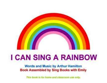 sing a rainbow cover only