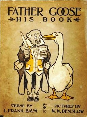 father goose his book baum denslow