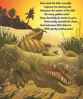 how doth little croc carroll squire highlights