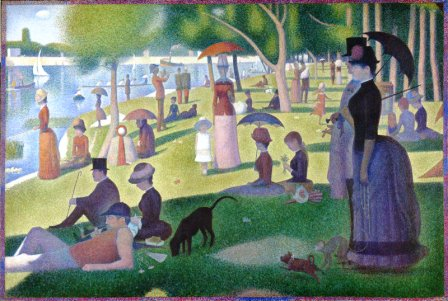 seurat sunday in the park