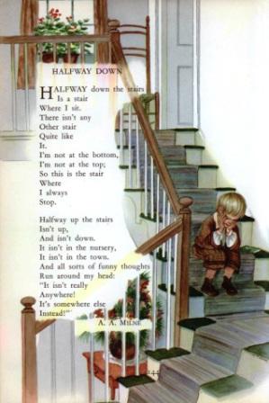 halfway down childcraft tasha tudor - Copy