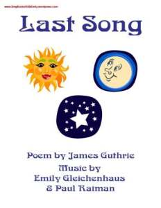 last song book eleg sbwe cover only