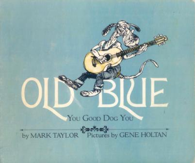 OLD BLUE Gets a Song Sheet with Guitar Chords | Sing Books