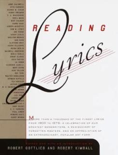 reading lyrics Robert Gottlieb, Robert Kimball