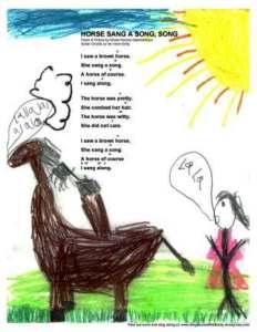 horse sang a song EPG & ELEG w guitar chords