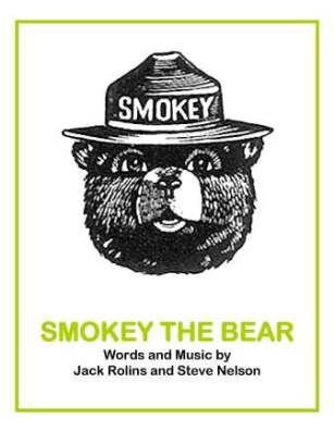 smokey the bear book eleg sbwe cover only