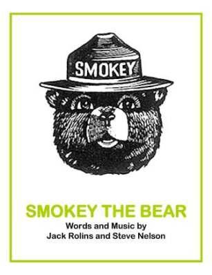 smokey the bear book eleg sbwe cover only