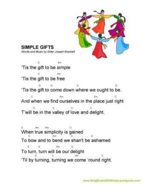 Simple Gifts ELEG for SBWE